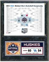 "NCAA UConn Huskies 2014 Men's Basketball Champions 12"" x 15"" Plaque"