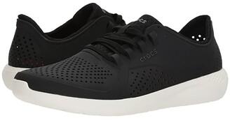 Crocs LiteRide Pacer (Black/White) Men's Shoes