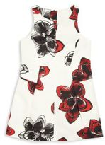 Milly Little Girl's Magnolia Print Racerback Dress