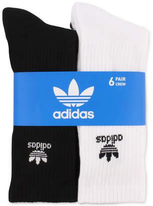 adidas Men 6-Pk. Crew Socks