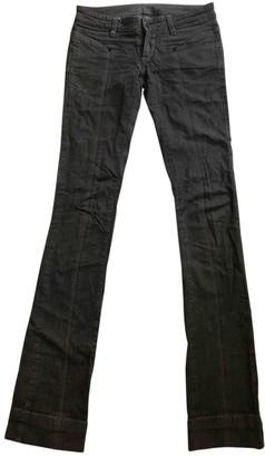 L'Wren Scott Grey Cotton Jeans for Women