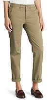 Lauren Ralph Lauren Stretch Cotton Straight Pant