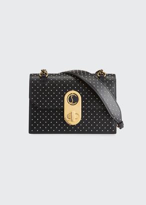 Christian Louboutin Elisa Small Studded Leather Shoulder Bag