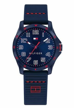 Tommy Hilfiger Unisex Children Analogue Watch with Silicone Strap 1791666