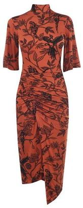 Biba High Neck Dress