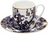 Roberto Cavalli Azulejos Set Of 6 Espresso Cups