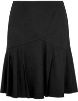 Pringle Pleated Wool Mini Skirt