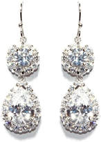 Gemma Collection Accented Pave Earrings