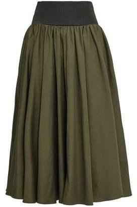 Roksanda Cotton-poplin Midi Skirt