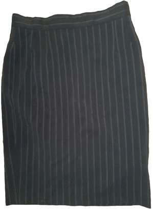 Christian Dior Black Wool Skirt for Women Vintage