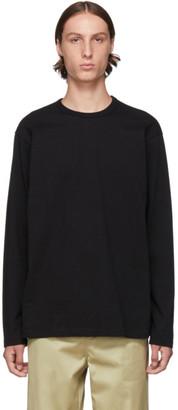 Comme des Garcons Homme Black Stripe Long Sleeve T-Shirt
