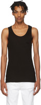 Stolen Girlfriends Club Black Stolen Rib Tank Top