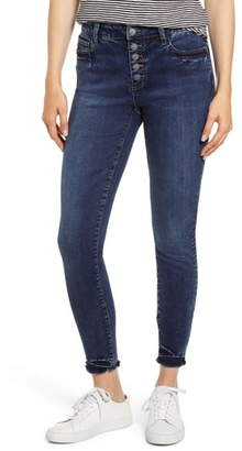 Fly London WASH LAB Button Skinny Jeans