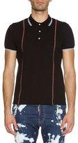DSQUARED2 Suspender Polo Shirt, Black