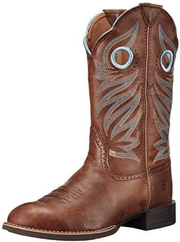 4f75061c05c Women's Round Up Stockman Western Cowboy Boot