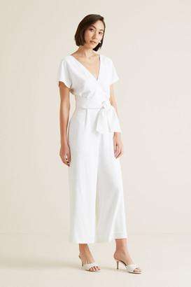 Seed Heritage Wrap Front Jumpsuit