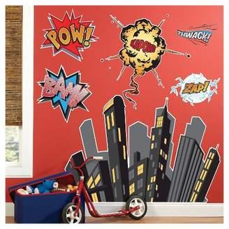BuySeasons Superhero Comics Wall Decal