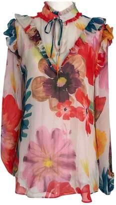 Carolina K. Beige Silk Top for Women
