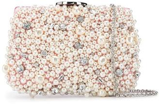Giambattista Valli Pearl Embellished Clutch Bag