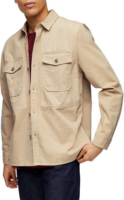 Topman Ripstop Overshirt