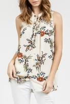 Blu Pepper Spring Floral Top