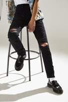 BDG Destructed Black Skinny Jean