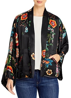 Johnny Was Maggie Cropped Reversible Kimono