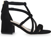 Sandro Juliette suede heeled sandals