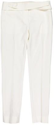 Christian Dior Ecru Cotton Trousers