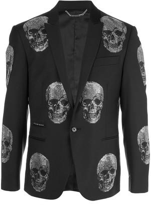 Philipp Plein Skull blazer