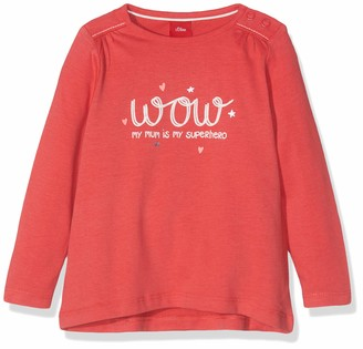 S'Oliver Baby Girls' 65.908.31.8701 Long Sleeve Top