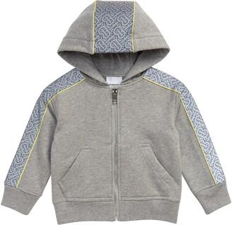 Burberry Kids' Monogram Stripe Cotton Hoodie
