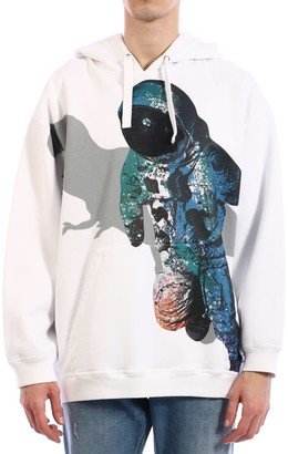 Valentino Hoodie Infinite City White