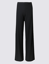 M&S Collection PLUS Wide Leg Trousers