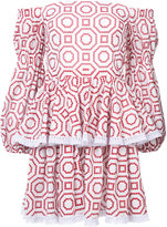 Alexis ruffled mini dress - women - Cotton - S