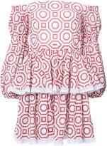 Alexis ruffled mini dress - women - Cotton - XS