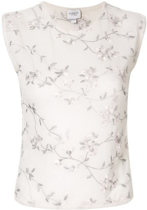 Giambattista Valli Embroidered Floral Jumper