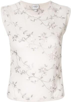 Giambattista Valli embroidered floral jumper