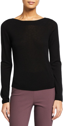 Vince Wool-Cashmere Boat-Neck Sweater