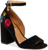 Nanette Lepore Nanette by Martina Embroidered Dress Sandals