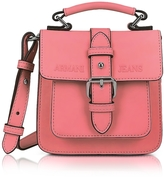 Armani Jeans New Light Geranio Eco Leather Crossbody Bag