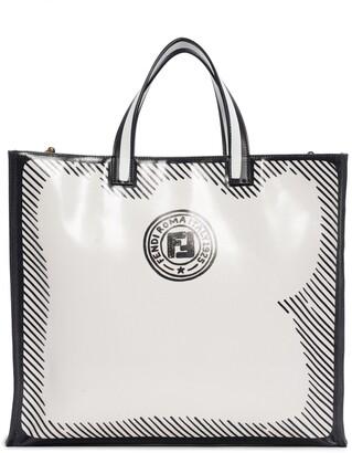 Fendi x Joshua Vides FF Logo Coated Shopper