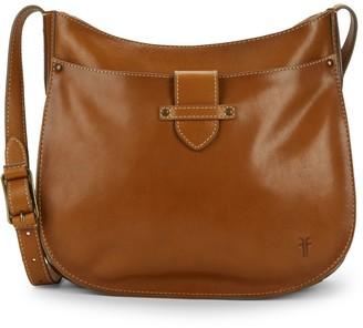 Frye Olivia Large Leather Crossbody Bag