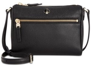 Kate Spade Polly Pebble Leather Crossbody