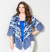 Avenue Tie Dye Kimono