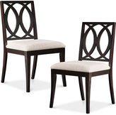 Jessen Set of 2 Dining Chairs, Quick Ship