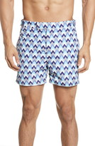 Frescobol Carioca Parquet Tailored Swim Shorts