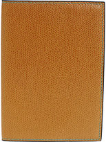 Valextra Women's Passport Case-TAN
