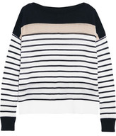Autumn Cashmere Striped Cotton Top