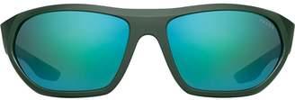 Prada round sports sunglasses